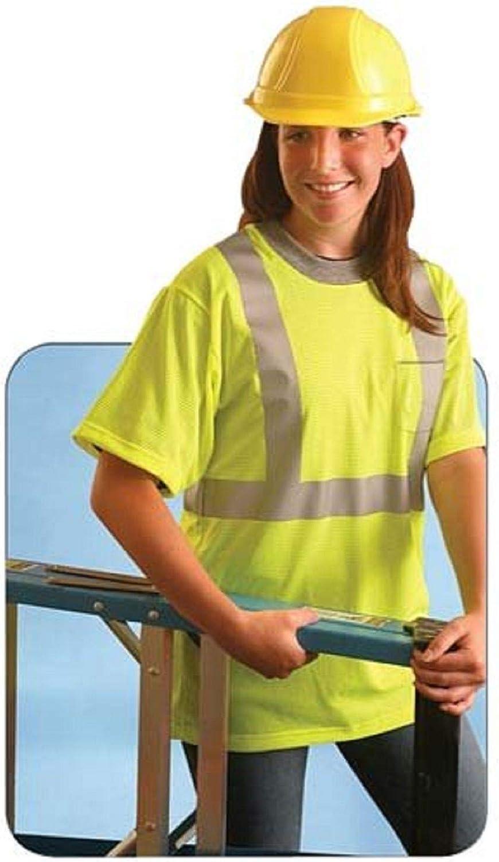 Occunomix LUX-SSTPC2-YM Premium Cheap bargain Standard Safety Medi Rapid rise Mesh Shirt