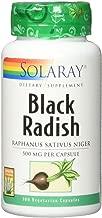 Solaray Black Radish Root VCapsules, 100 Count