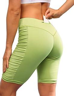 Zexxxy Women Seamless Yoga Pants High Waist Gym Workout Leggings Butt Lift Compression Pants
