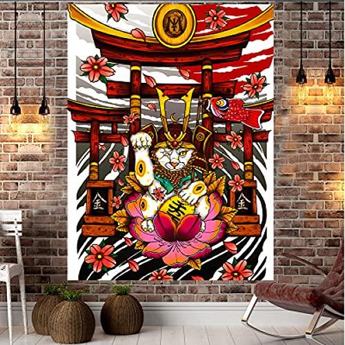 NHhuai Tapiz, decoración de Dormitorio, Alfombrilla para Yoga, Toalla para Playa, Tapiz Tapiz para Colgar en la Pared Pinturas hogar Fondo paño