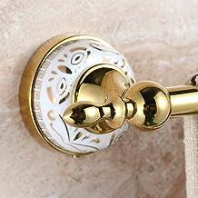 MBYW moderne minimalistische hoge dragende handdoek rek badkamer handdoek rail Handdoek bar, hanger badkamer vergulde hand...