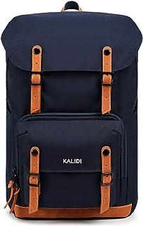 KALIDI 17 Zoll Laptop Backpack Großer Rucksack Wanderrucksack bis zu 15.6 Zoll Laptop Notebook Arbeit Campus Studenten Outdoor Reisen Wandern Blau