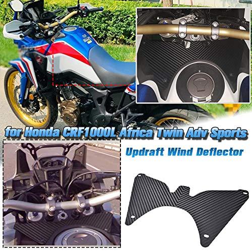 AHOLAA Accesorios de Motocicleta Horquilla Escudo Updraft Flujo de Aire Deflector de...