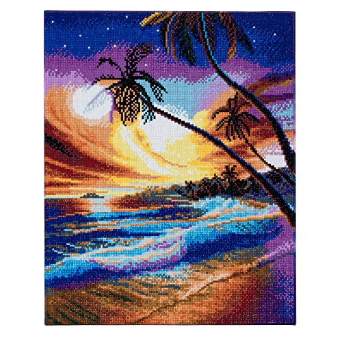 CRYSTAL ART CAK-A47 40x50cm Landscape Framed Kit, Multicolor