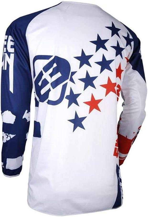 blau rot Shot FREEGUN DEVO KID USA Motocross Kinder Jersey 2018