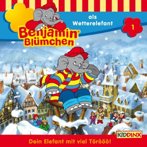 Benjamin als Wetterelefant audiobook cover art