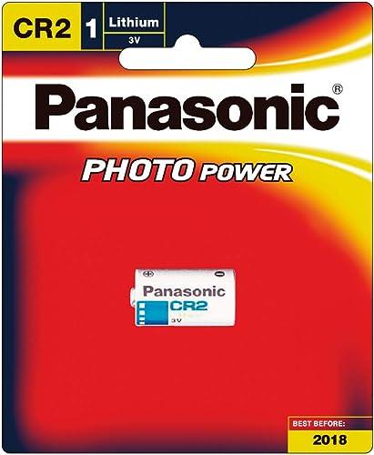 Panasonic CR-2W/1BE Photo Lithium Battery
