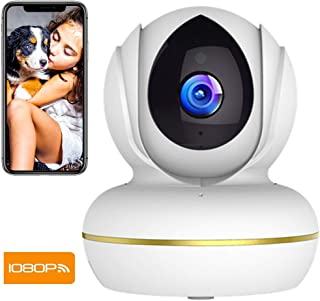 Camara Vigilancia SUPEREYE 1080P Cámara IP Cámaras de Vigilancia WiFi Interior FHD con Visión Nocturna Detección de Movimiento Audio de 2 Vías Compatible con iOS Android