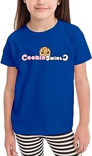 Co_Okie S-wirl C Black Cute Cotton Kids T-Shirt