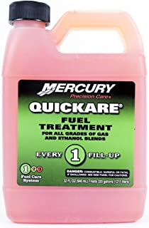 MERCURY Genuine Quickfare Fuel Treatment 32Oz - 8M0058690