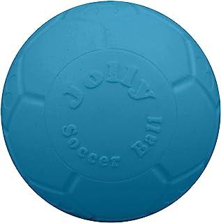 لعبة كرة القدم الكبيرة للكلاب تطفو على الماء، بقطر 20.32 سم، باللون الأزرق المحيطي، من جولي بيتس
