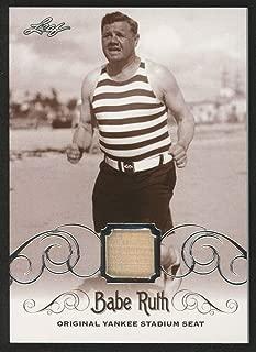 BABE RUTH 2016 LEAF #YS-55 ORIGINAL YANKEE STADIUM GAME USED SEAT TRADING CARD