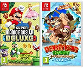 New Super Mario Bros. U Deluxe & Donkey Kong Country: Tropical Freeze