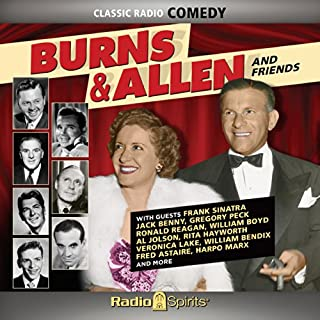 Burns & Allen audiobook cover art