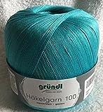 Häkelgarn 100 Gründl Wolle Baumwolle 100 g Farbe 139 -