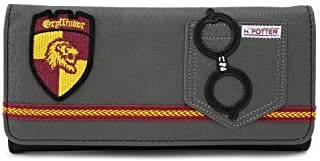 Loungefly Harry Potter Gryffindor Faux Leather Trifold Wallet