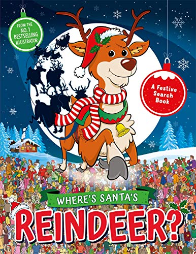 Where's Santa's Reindeer?: A Festive Search and Find Book (Search and Find Activity, 9)