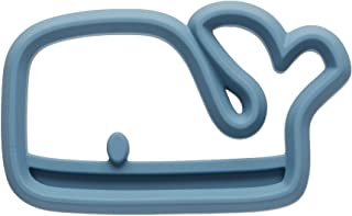 Itzy Ritzy Silicone Baby Teether - BPA-Free Infant Teether with Easy-to-Hold Design & Textured Back Side to Massage & Soot...