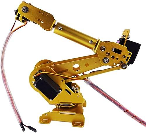 FLAMEER Roboter-Manipulator 6 DOF -Roboterarm + Mechanische Klaue + Servo Für Roboter-DIY