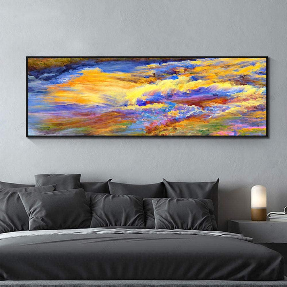 Diamond Painting Abstract Japan's largest assortment Yellow Cloud Colored outlet