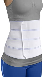 "Premium Plus Size Bariatric Abdominal Binder - 12"" 4 Panel - Fits Waist Sizes up to 45"""