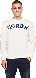 G-Star Men's Graphic Sweatshirt, White