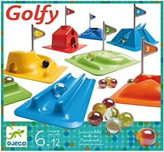 DJECO Marble Golf Game Set for Indoors and Outdoors