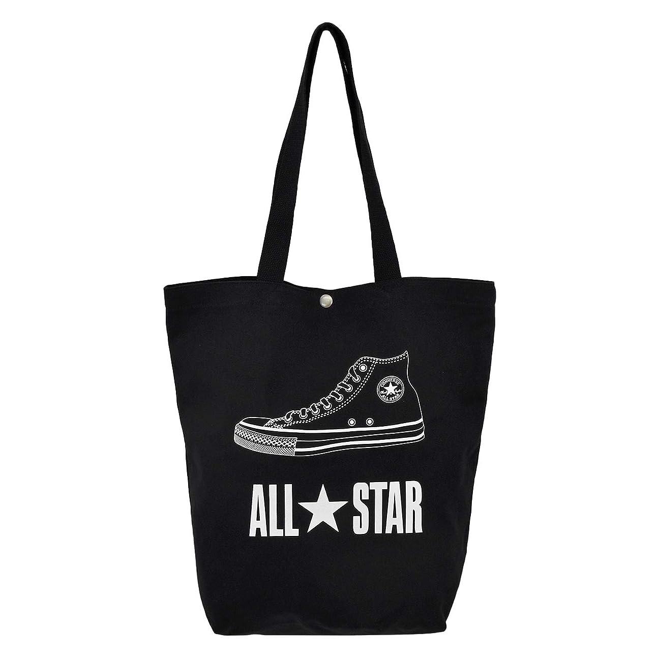 愛国的な寛大さ考え(コンバース)CONVERSE ブランド ロゴ キャンバス トートバッグ ALL STAR オールスター