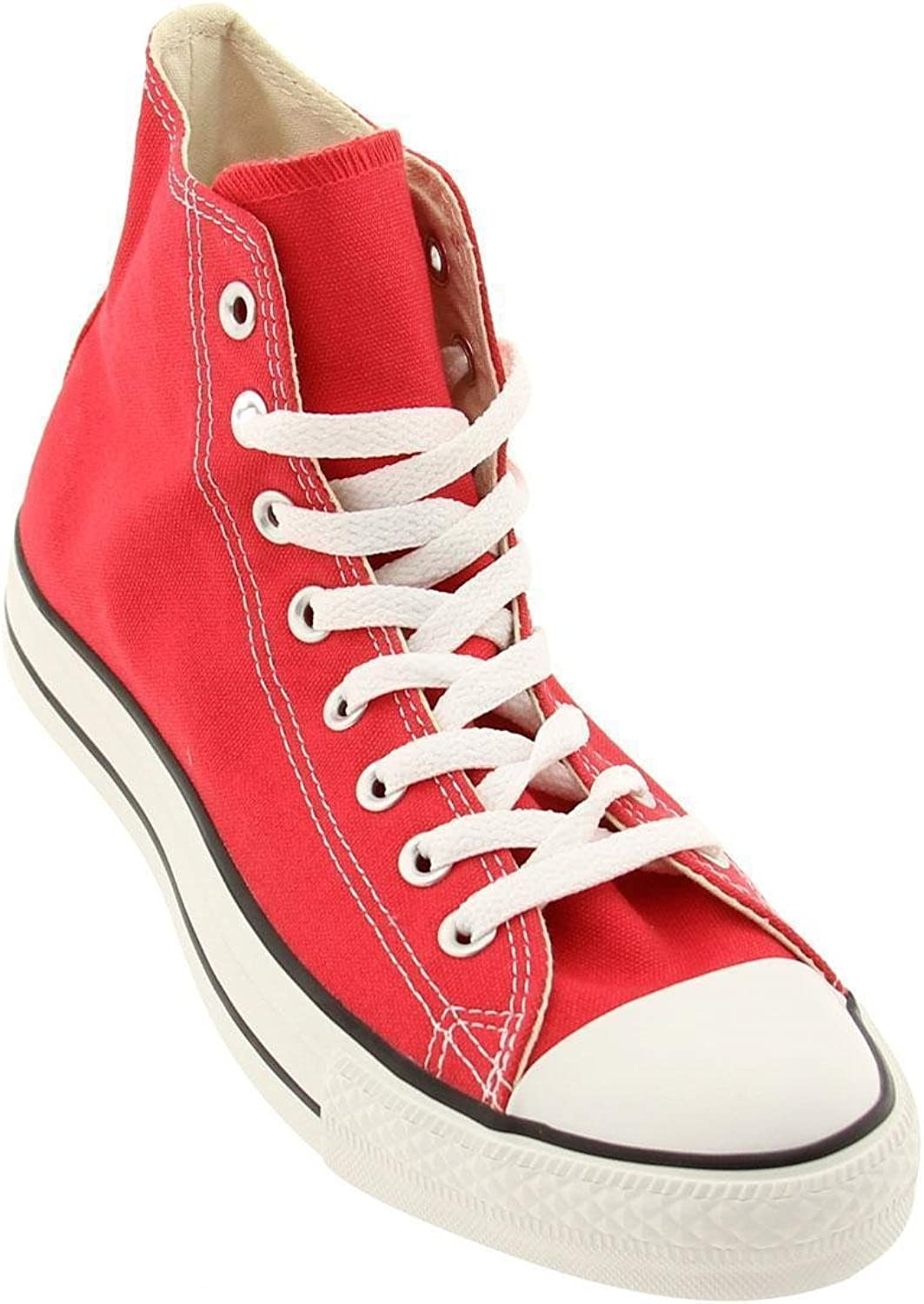 CONVERSE CHUCK TAYLOR ALL STAR HI CANVAS MEN SHOES RED M9621 SIZE 11 NEW