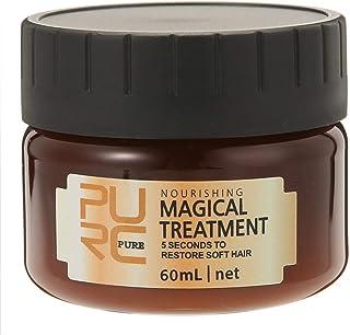 PURC 60ml Magical Treatment Mask Repairs Damage Restore Soft Hair Care 5 Seconds Repairs Damage Hair Root