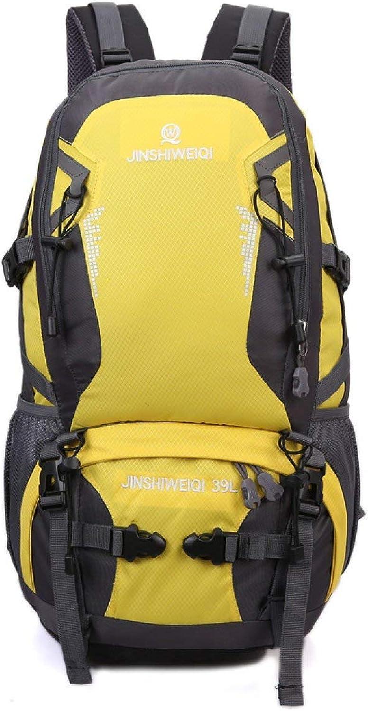 Lounayy Rucksack Bergsteigen Tasche Schultern Ultra Wandern Stylisch Mode Licht Wasserdicht Reisen 40L A (Farbe   A, Größe   One Größe)