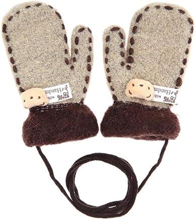 Xsj Baby Winter Warme Handschuhe Unisex Cartoon Bear Thicken Thicken Thicken Handschuhe Baumwolle Vollen Finger Gestrickte Mittens Für Kinder Jungen Mädchen B07JHM9426     Clearance Sale  92e215