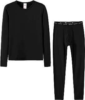 Boys Thermal Underwear Long John Set Winter Base Layer Top and Bottom B03