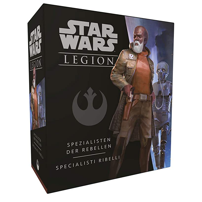 Asmodee Italia Star Wars: Legion-Specialisti Rebelli, Table Game, Colour, 10224