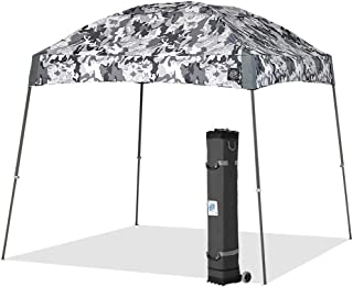 E-Z UP DM3SG10CG, Camo Gray Dome Instant Shelter Canopy, 10 by 10`, 10x10