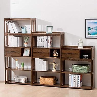 Book Case Book Shelves Storage Cabinet Student Storage Rack Living Room Locker Kitchen Floor Rack Load Bearing 100kg Cabinets