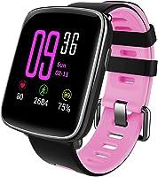 Willful Montre Connectée Bracelet Connecté Podometre Cardio Homme Femme Enfant Smart Watch Android iOS Smartwatch...