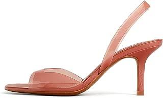 Zara Women Vinyl high Heel Sandals 2337/001