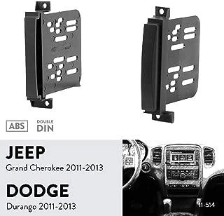 Jeep Grand Cherokee Autoradio Stéréo Panneau Avant Fascia Adaptateur Panneau Plaque Trim