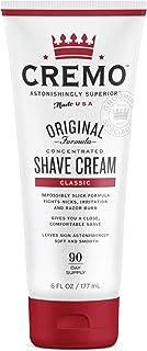 Cremo Original Shave Cream, Astonishingly Superior Smooth Shaving Cream Fights Nicks, Cuts And Razor Burn, 6 Ounces, Multicolor