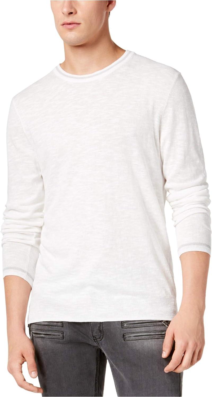 I-N-C Mens Contrast-Trim Pullover Sweater
