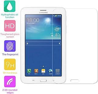 GerTong - Protector de Pantalla de Cristal Templado para Tablet Samsung Galaxy Tab 3 Lite 7.0 Pulgadas (T110/T111) - Protector de Pantalla de Cristal Transparente Premium con dureza 9H (1 Unidad)