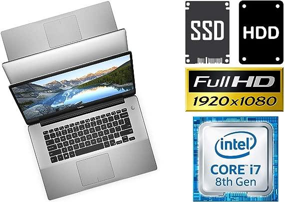 Laptop Dell 15 5580 Core i7-8565U 32GB DDR4-RAM 500GB SSD 1000GB HDD Windows 10 Pro 39cm 15 6 quot Full HD Matt Schätzpreis : 1.339,00 €
