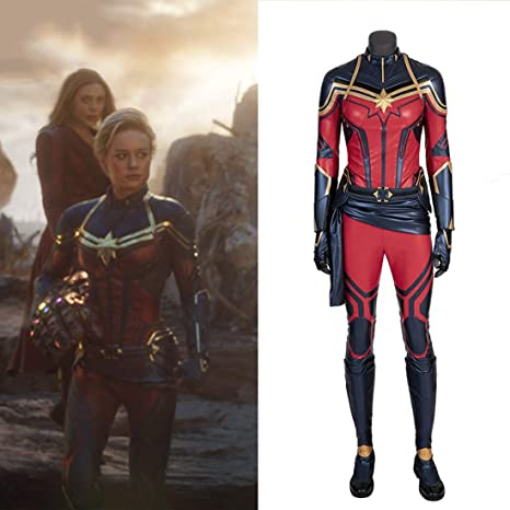 Amazon Com Rubyonly Captain Marvel Cosplay Halloween Costumes For Women Avengers 4 Carol Danvers Superhero Wholeset Xxxl Home Kitchen And, for captain marvel, he led a team of equally talented artists including jackson sze, ian joyner, anthony francisco, adam ross, tully summers because captain marvel is part of an elite military force, the kree, the design team wanted to create a military space suit that looked like it could endure. carol danvers superhero wholeset xxxl