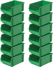 """'12X Visión Caja""""Classic Fb 2con barra, medidas 510/450x 300x 200mm, contenido 27L), color verde"""