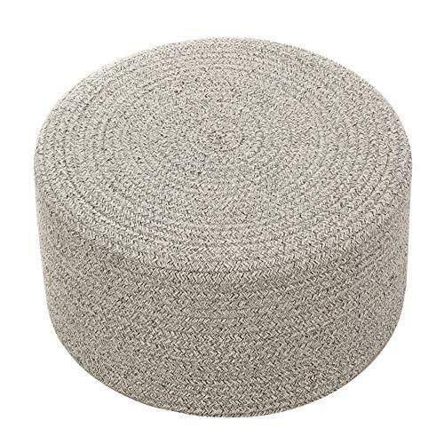 QZF Cojines Tatami con Hilo de algodón Material de Relleno EPE Transpirable Cojín Duradero Elasticidad Easy Clean Aire Libre Cojines de meditación para Office Muebles del Patio