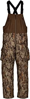 Natural Gear Stealth Hunter Grand Stand Bibs for Men, Insulated and Waterproof Camo Hunting Overalls