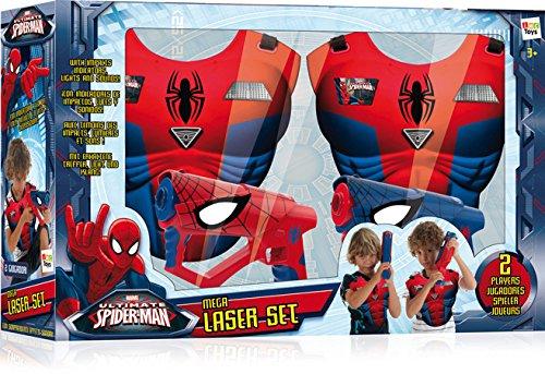 IMC Toys 550902, Mega Laser Set di Spiderman