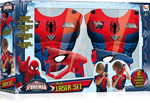 IMC Toys - 550902 - Mega Laser Set di Spiderman