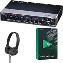 Steinberg UR44 USB 2.0 Audio Interface Bundled with On-Ear Studio Headphones and MAGIX Acid Pro 8 Music Production Software [Download Card]